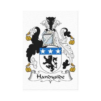 Escudo de la familia de Handyside Impresiones En Lona