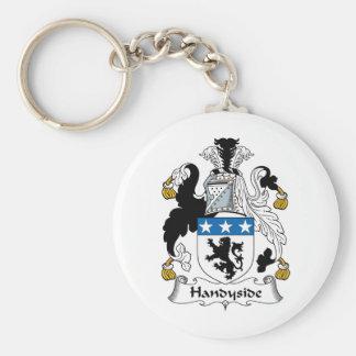 Escudo de la familia de Handyside Llaveros Personalizados
