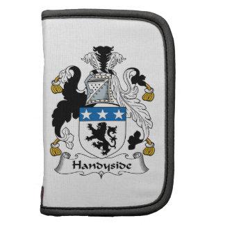 Escudo de la familia de Handyside Planificador