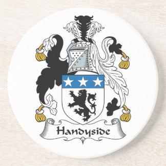 Escudo de la familia de Handyside Posavasos Cerveza