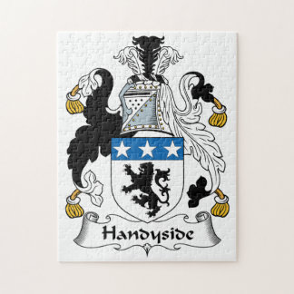 Escudo de la familia de Handyside Puzzles Con Fotos