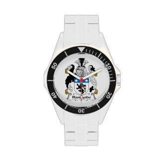 Escudo de la familia de Handyside Reloj