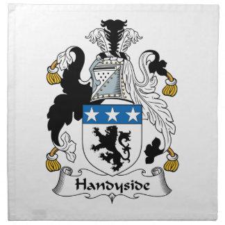 Escudo de la familia de Handyside Servilletas Imprimidas