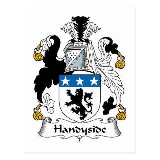 Escudo de la familia de Handyside Tarjetas Postales