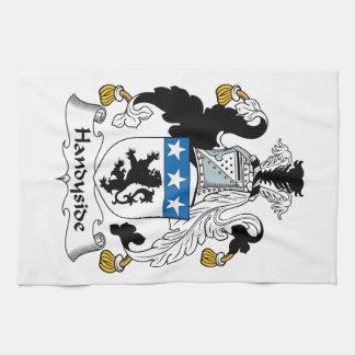 Escudo de la familia de Handyside Toalla De Mano