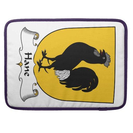 Escudo de la familia de Hane Funda Para Macbook Pro