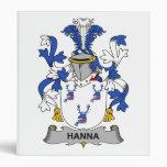 Escudo de la familia de Hanna