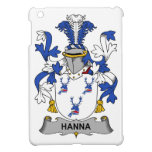 Escudo de la familia de Hanna iPad Mini Funda
