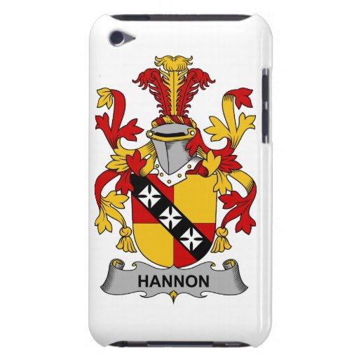 Escudo de la familia de Hannon Barely There iPod Cobertura