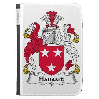 Escudo de la familia de Hansard