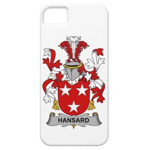 Escudo de la familia de Hansard Funda Para iPhone 5 Barely There