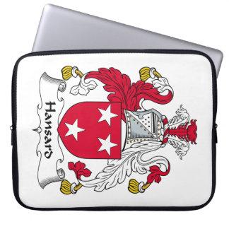 Escudo de la familia de Hansard Fundas Portátiles