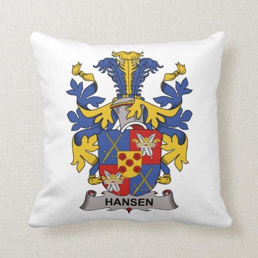 Escudo de la familia de Hansen Cojin