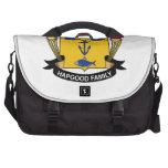Escudo de la familia de Hapgood Bolsa De Ordenador