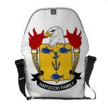 Escudo de la familia de Hapgood Bolsa De Mensajería