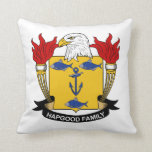 Escudo de la familia de Hapgood Cojines