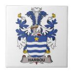 Escudo de la familia de Harbou Azulejo