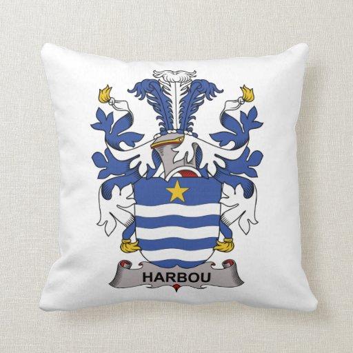 Escudo de la familia de Harbou Cojines