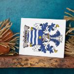 Escudo de la familia de Harbou Placas De Madera