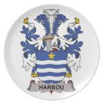 Escudo de la familia de Harbou Platos
