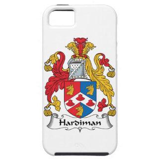 Escudo de la familia de Hardiman iPhone 5 Case-Mate Protectores