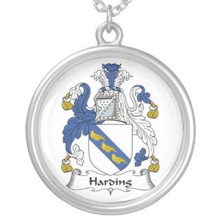 Escudo de la familia de Harding Colgante Redondo