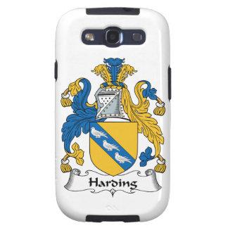 Escudo de la familia de Harding Galaxy S3 Carcasa