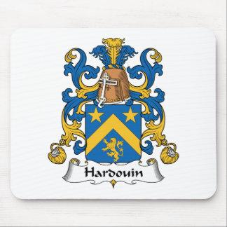 Escudo de la familia de Hardouin Alfombrillas De Ratones