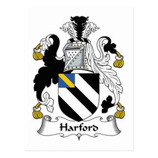 Escudo de la familia de Harford Postales