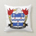Escudo de la familia de Harkness Cojines