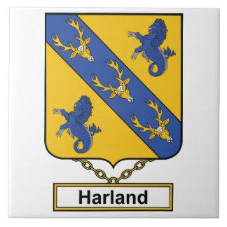 Escudo de la familia de Harland Teja