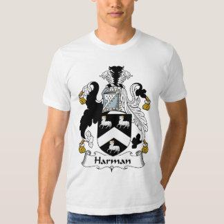 Escudo de la familia de Harman Camisas