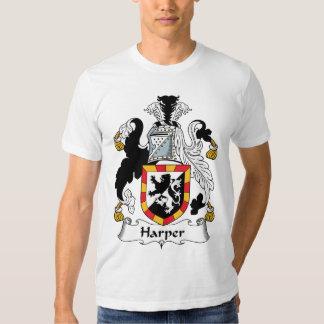 Escudo de la familia de Harper Camisas