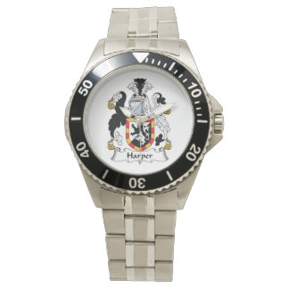 Escudo de la familia de Harper Relojes De Pulsera
