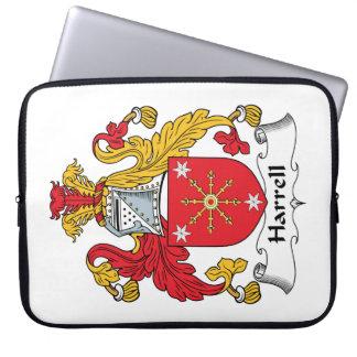 Escudo de la familia de Harrell Mangas Computadora