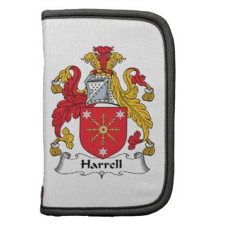 Escudo de la familia de Harrell Planificadores