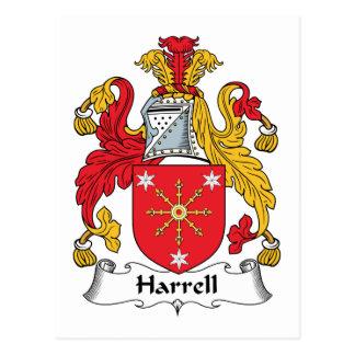 Escudo de la familia de Harrell Postal