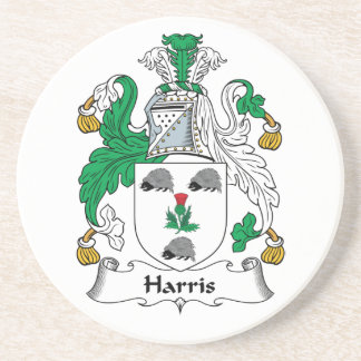 Escudo de la familia de Harris Posavasos Manualidades