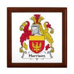 Escudo de la familia de Harrison Cajas De Regalo