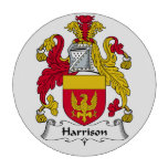 Escudo de la familia de Harrison Fichas De Póquer