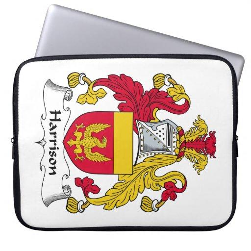 Escudo de la familia de Harrison Manga Portátil