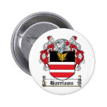 Escudo de la familia de Harrison Pin