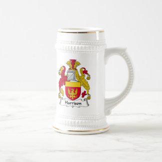 Escudo de la familia de Harrison Taza De Café