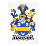 Escudo de la familia de Hartnet Comunicados Personales