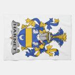 Escudo de la familia de Hartnet Toallas De Mano