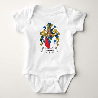 Escudo de la familia de Hartung Camisetas