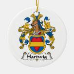 Escudo de la familia de Hartwig Ornamentos De Reyes Magos