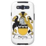 Escudo de la familia de Harvey Galaxy S3 Protectores