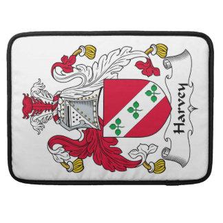 Escudo de la familia de Harvey Funda Para Macbook Pro