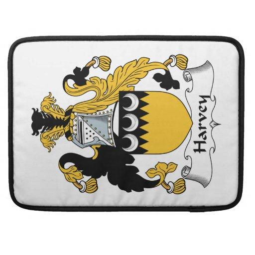 Escudo de la familia de Harvey Fundas Para Macbook Pro